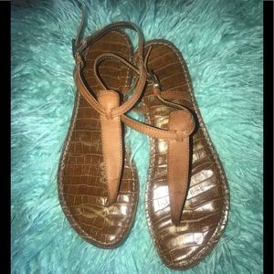 SAM EDELMAN GIGI THONG Sandals Size 7 1/2